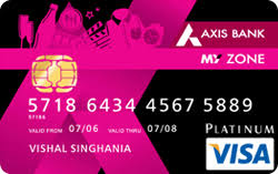 axis bank india credit card offers
